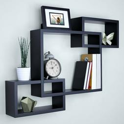3 Cubes Intersecting Boxes Wall Shelf Home Deco Storage Wall