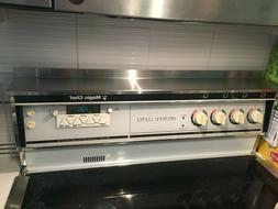 """20"""" Stainless Steel Magnetic Mount Kitchen Stove Spice and T"""