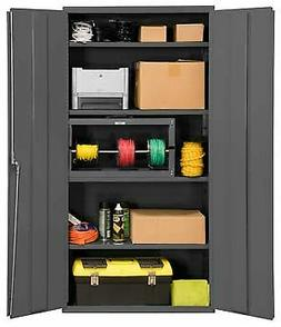 Durham 3602-95, Cabinet with 4 Adjustable Shelves and Flush