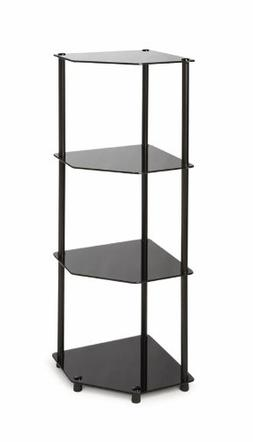 Convenience Concepts Designs2Go Midnight Classic 4-Tier Glas