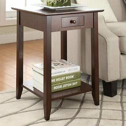 Convenience Concepts American Heritage End Table with Shelf