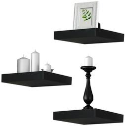 Sorbus Floating Shelves  Solid Square Shaped Hanging Wall Sh