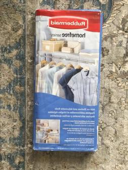 Rubbermaid Homefree Add On 2 Shelves And Adjustable Rod Hang