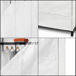 Honey Can Do WRD-01898 46 in. Storage Wardrobe with top shel
