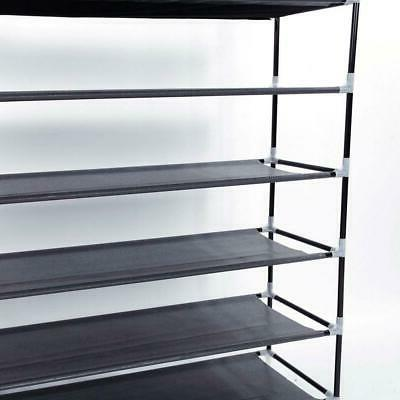 10 Tier Stackable Rack Steel Holds Pairs