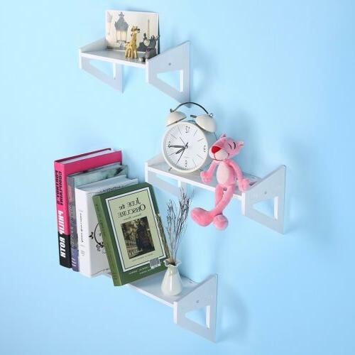 3Pcs Wall Floating Decor Storage