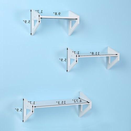 3Pcs Shelf Decor