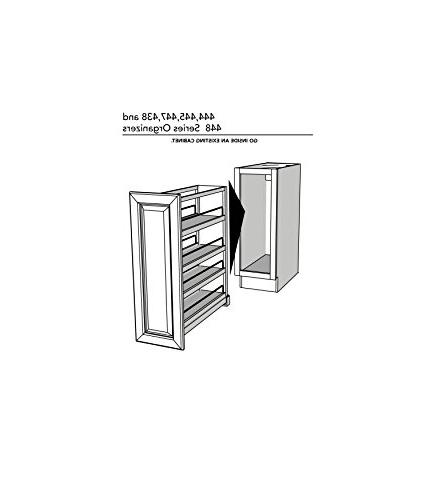 Rev-A-Shelf Pullout with Wood Adjustable Sink & Base