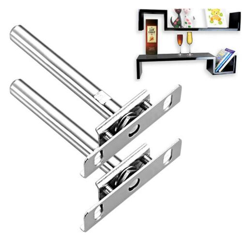 16 x Heavy Duty Tool Concealed Floating Hidden Wall Shelf Su