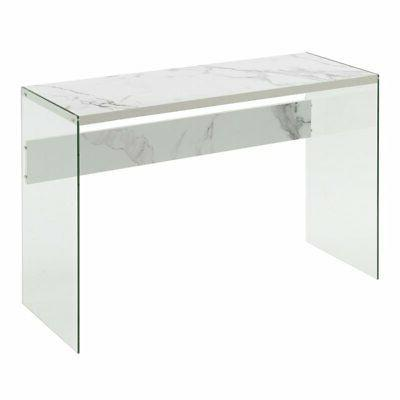 Convenience SoHo Table in White Marble
