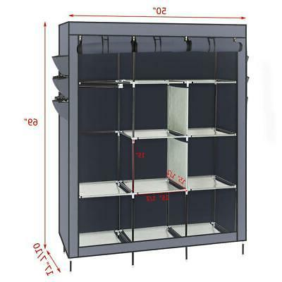 Portable Rack Storage Holder with Gray