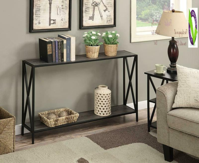Convenience Table, Weathered Gray