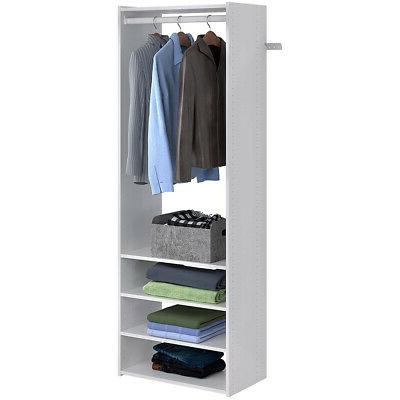 Easy Closet with & Drawers, Weathered