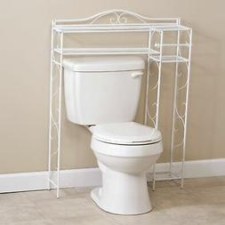 Over the Toilet Space Saver Storage Rack with 4 Shelves