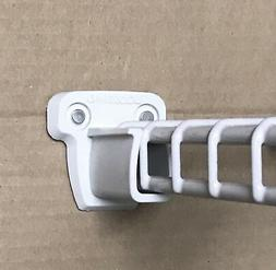 CLOSETMAID PRE-LOADED LOW PROFILE WALL BRACKETS WIRE CLOSET