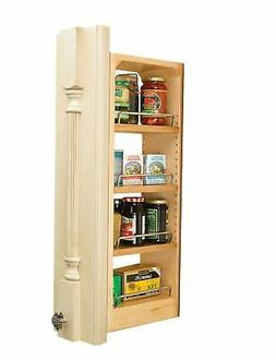 """Rev-A-Shelf 432-WF-6C 6"""" Wall Filler Pull-Out with Adjustabl"""