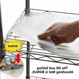 CONVELIFE Shelf Liners for Wire Shelf Liner Wire Rack Cabine