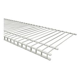 ClosetMaid SuperSlide 72 in. W x 12 in. D White Ventilated W