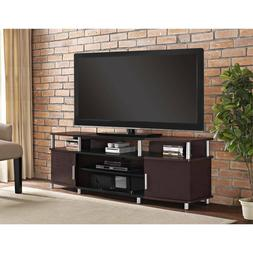 "Ameriwood Home Carson TV Stand for TV up to 70"" Wide open sh"